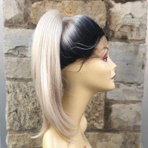 Light blonde ponytail #60 Lacefront wig 2020